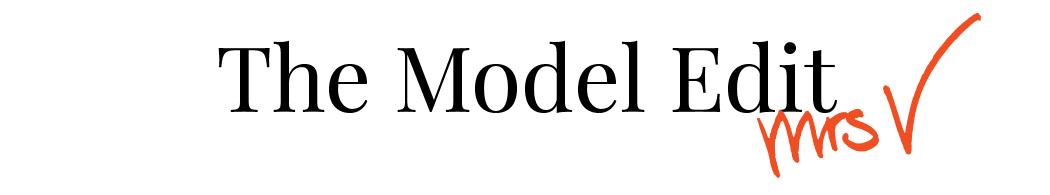 The Model Edit