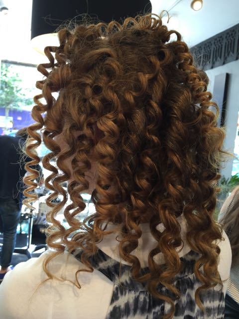 Hair, ringlets, curls, hair tongs,