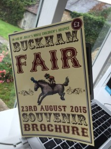 Buckham Fair, brochure, horse, pony, dog