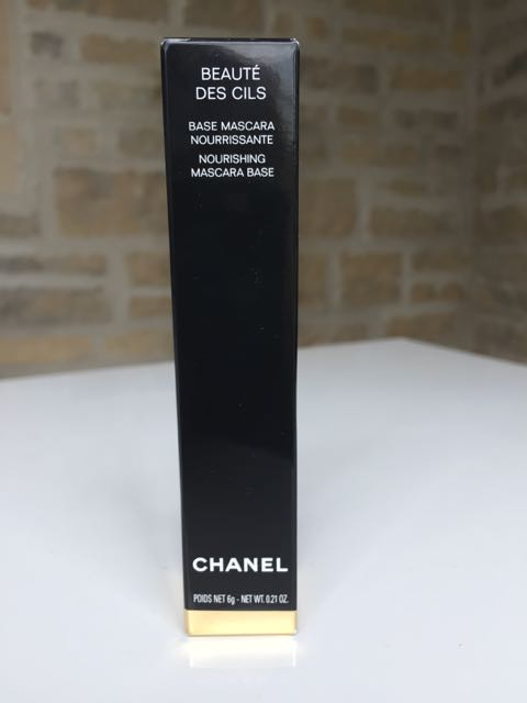 Chanel, Beaute des Cils, nourishing mascara base, earrings, double ear piercing