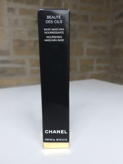 Chanel, Beaute des Cils, nourishing mascara base, earrings, double ear piercing