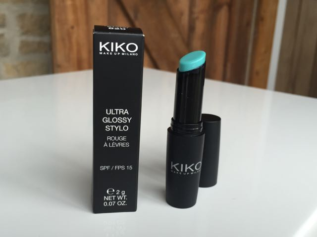 make up, Kiko make up shop, blue lipgloss, lipgloss