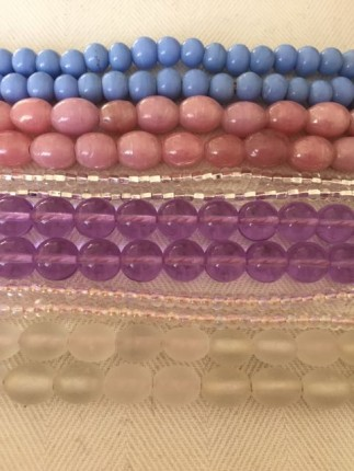 glass beads, beads, coloured beads, indian beads, pony beads, themodeledit.com, Vanessa Voegele-downing