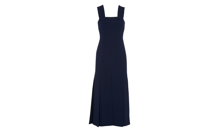 Whistles Limited Edition Dress, side split dress, navy blue dress, www.themodeledit.com, MrsV, Vanessa Voegele-Downing