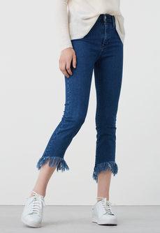 Mango frayed jeans, skinny jeans, denim