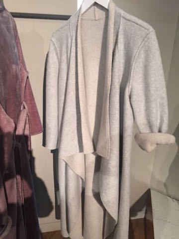 Wool dressing gown, M+S, M+S nightwear, lingerie
