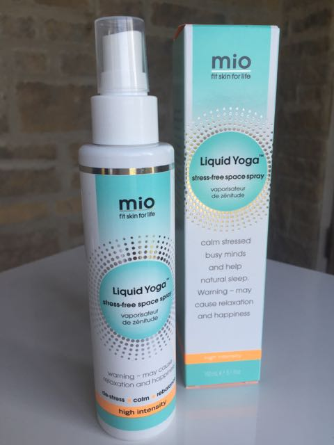 Mio Liquid Yoga Stress Free Space Spray, herbal sleep aid, herbal remedy, sleep aid, pillow spray