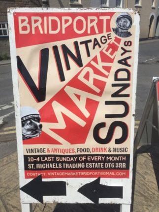 Bridport Vintage Market, antiques, market, food market, Bridport, Dorset
