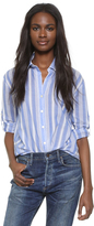 Striped woman's shirt, Young and Fabulous, Broke Mission top, shirt, striped shirt