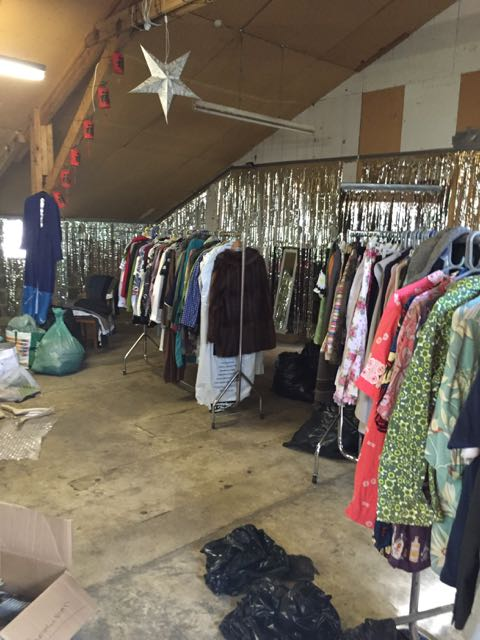 Buckham Fair, vintage clothes, nearly new designer clothes, labels for less, charity clothes shop, Buckham Fair
