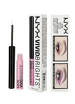 NYX Vivid Brights eyeliner, NYX Cosmetics, NYX Make Up, eyeliner, cosmetics, beauty products, beauty