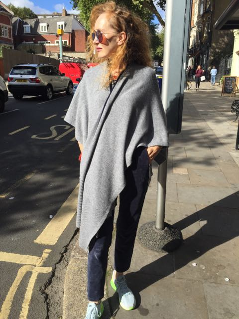 Ille de Cocos wool and cashmere wrap, Cashmere, shawl, wrap, poncho