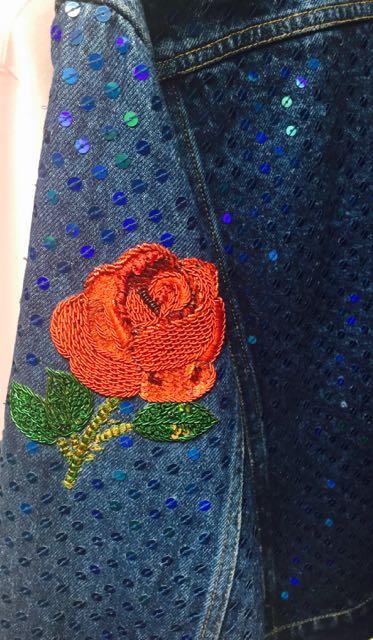 Ashish SS 2017, Embroidered Rose motif,