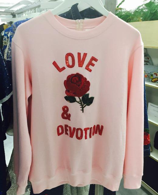 Ashish, Embroidery, Ashish embroidered sweatshirt, logo sweatshirt