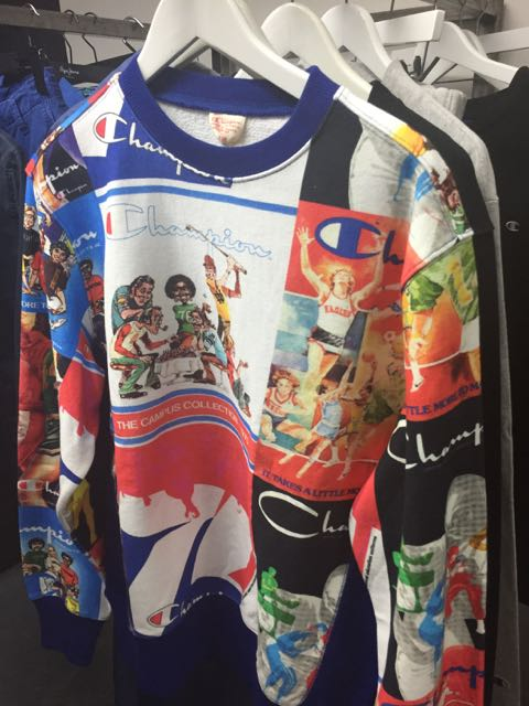 Champion sportswear, Champion SS 2017, men's sweatshirt, logo sweatshirt, designer sportswear