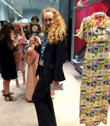 Miu Miu cocktail party, candy lolly, Instagram celebrities