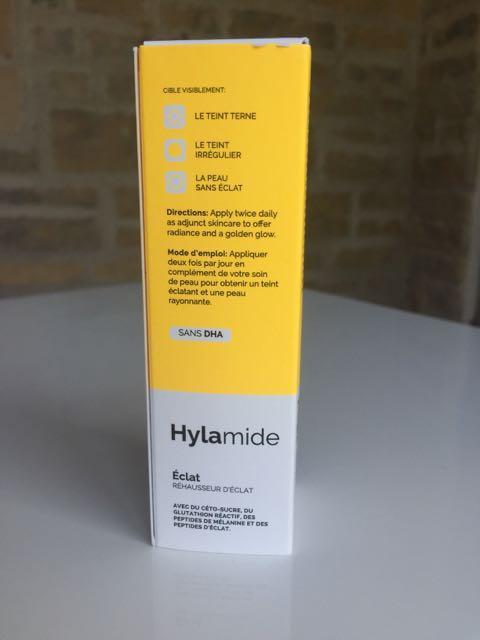 Hylamide Glow Radiance Booster, fake tan, skin tint