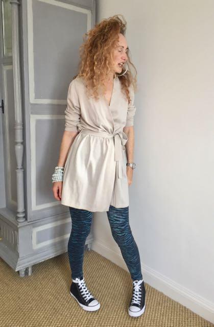 Kenzo, Kenzo H&M collaboration A/W 2017, leggings, Kenzo leggings, Kettlewell Sacha Cardi