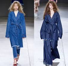 Marques Almeida, Denim, Denim coat, Marques Almeida A/W 2017