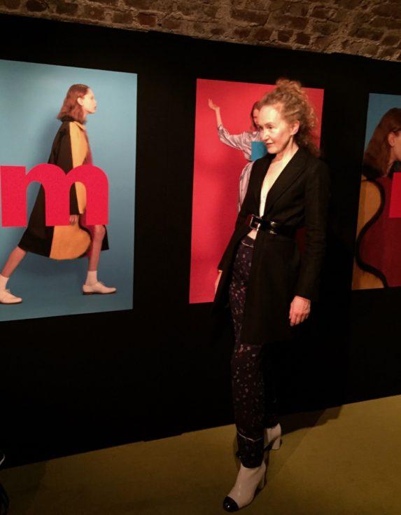 Minki, Zara pinstriped coat, Minki A/W 2017 Presentation