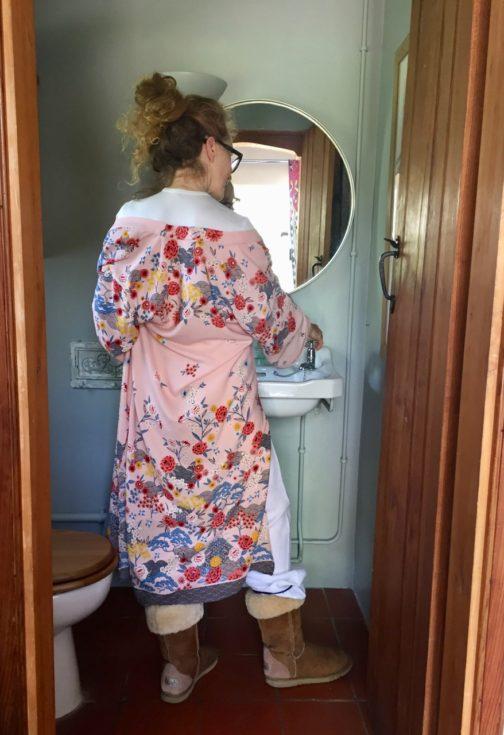 Kimono, Housecoat, Dressing Gown, New Look, New Look S/S 2017, New Look Kimono, floral Kimono