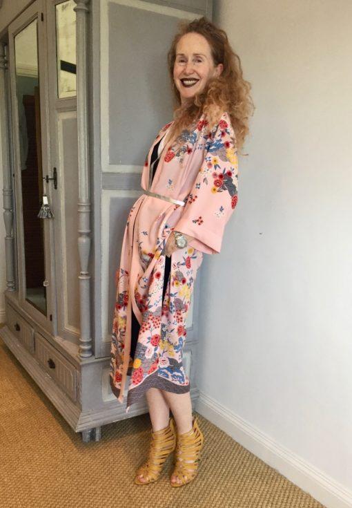 Kimono, Model, Modelling, New Look, CARINE roitfeld