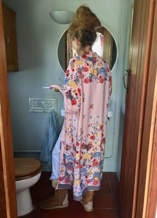 New Look Kimono, Floral Kimono, Kimono, Electric Toothbrush