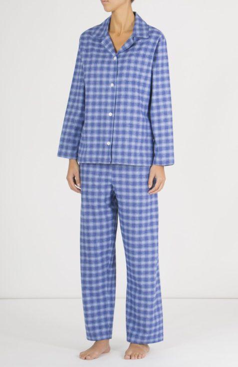 PJ's, Pyjamas, Ladies Pyjamas, tartan, Tartan pyjamas, nightwear, women pyjamas