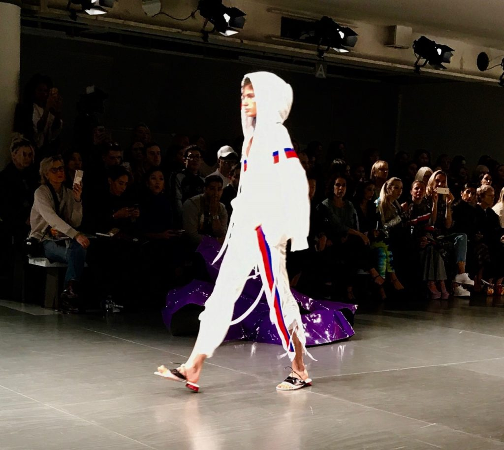 Fyodor Golan, womenswear designer, fashion, trendy, style, athleisure, sweatpants, jogging pants, tracksuit